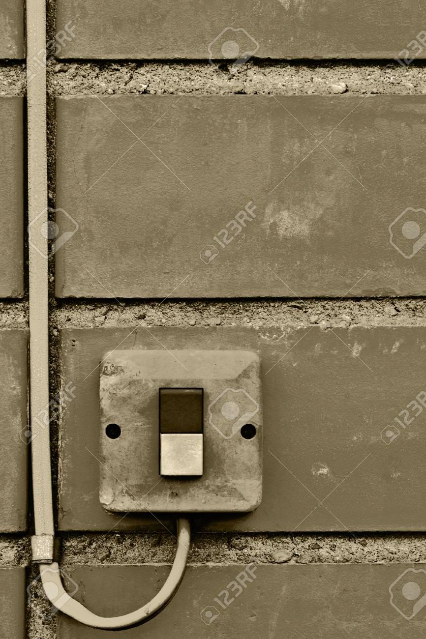 Außen Elektrische Ausrüstung Steuerung Industrie Taste ...