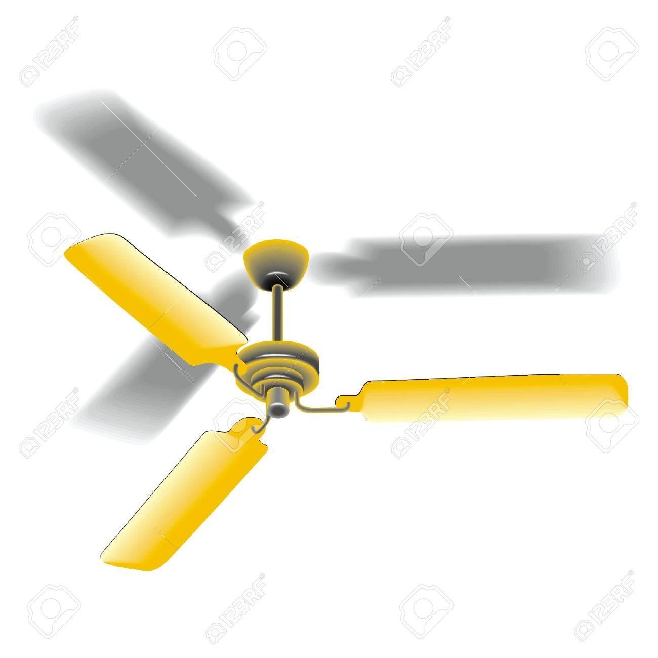 ceiling fan Stock Vector - 17365149