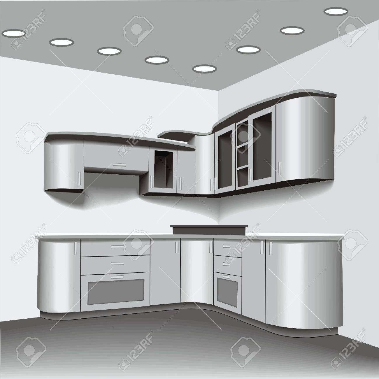 kitchen Stock Vector - 17365219