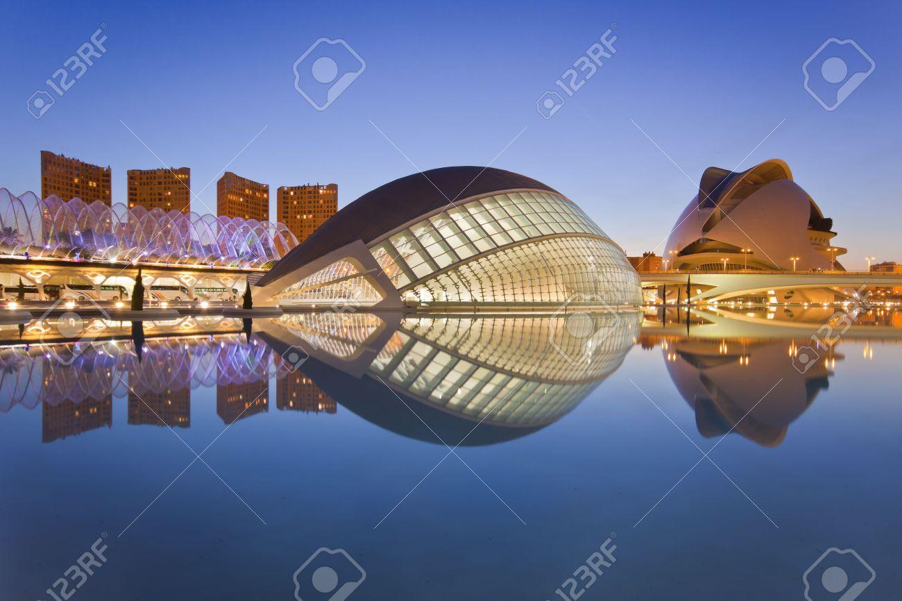 Valencia's City of Arts and Science Museum (Ciudad de las Artes y de las Ciencias) Stock Photo - 9201655