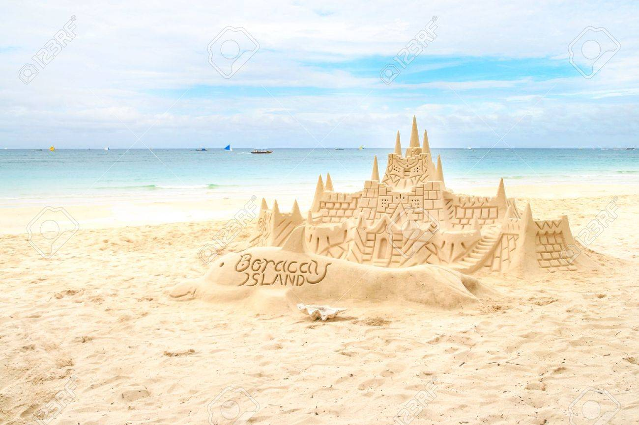 sand castle stock photos & pictures. royalty free sand castle