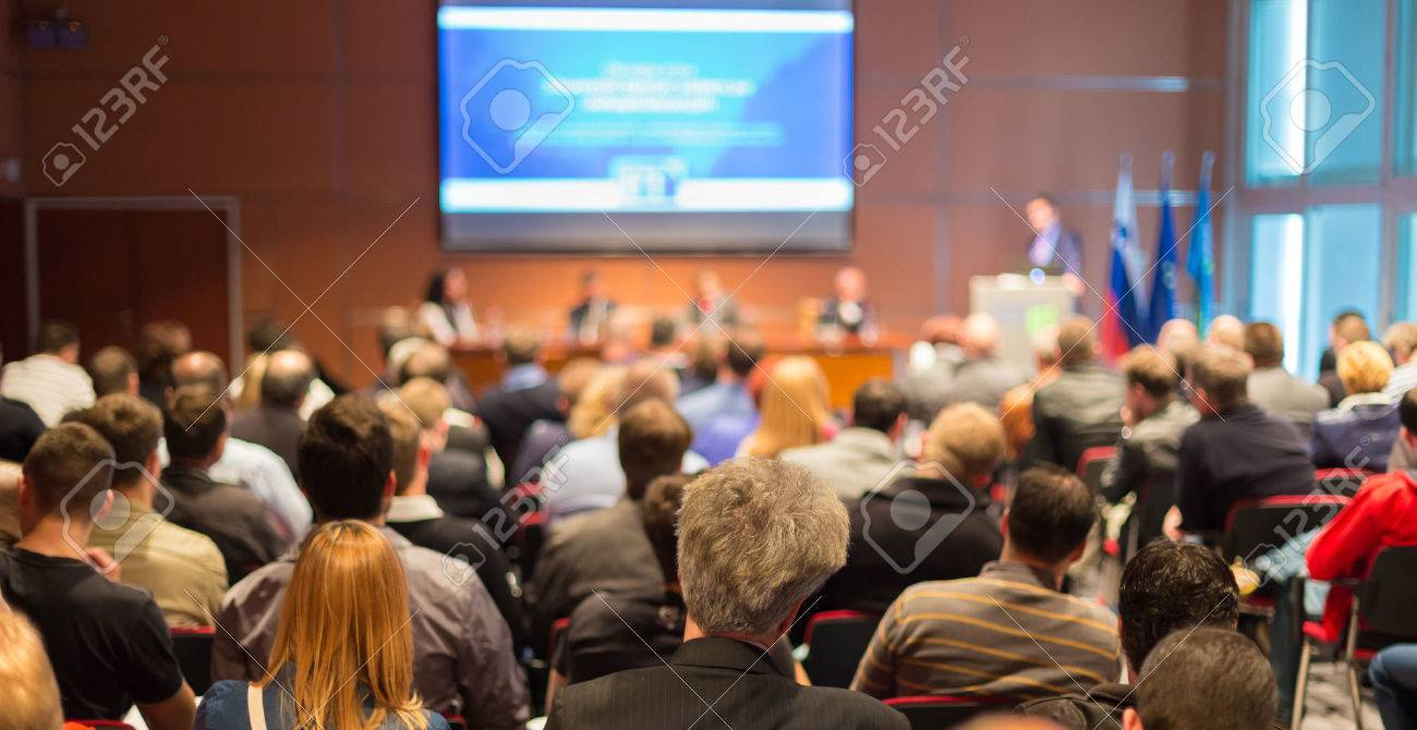 Business Conference and Presentation Audience at the conference hall. - 28259488