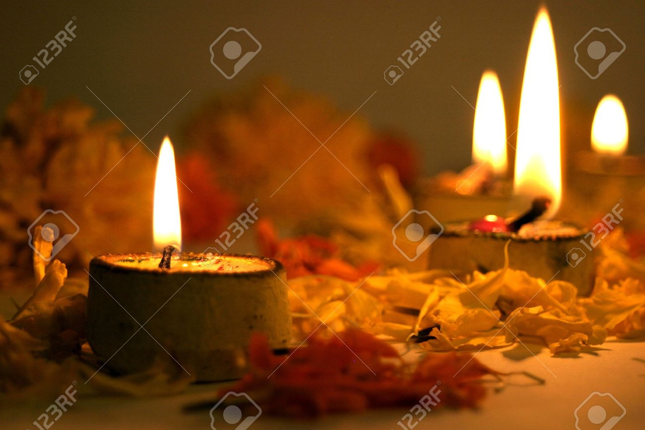 Diwali, festival of lights, traditional Indian Stock Photo - 10800797