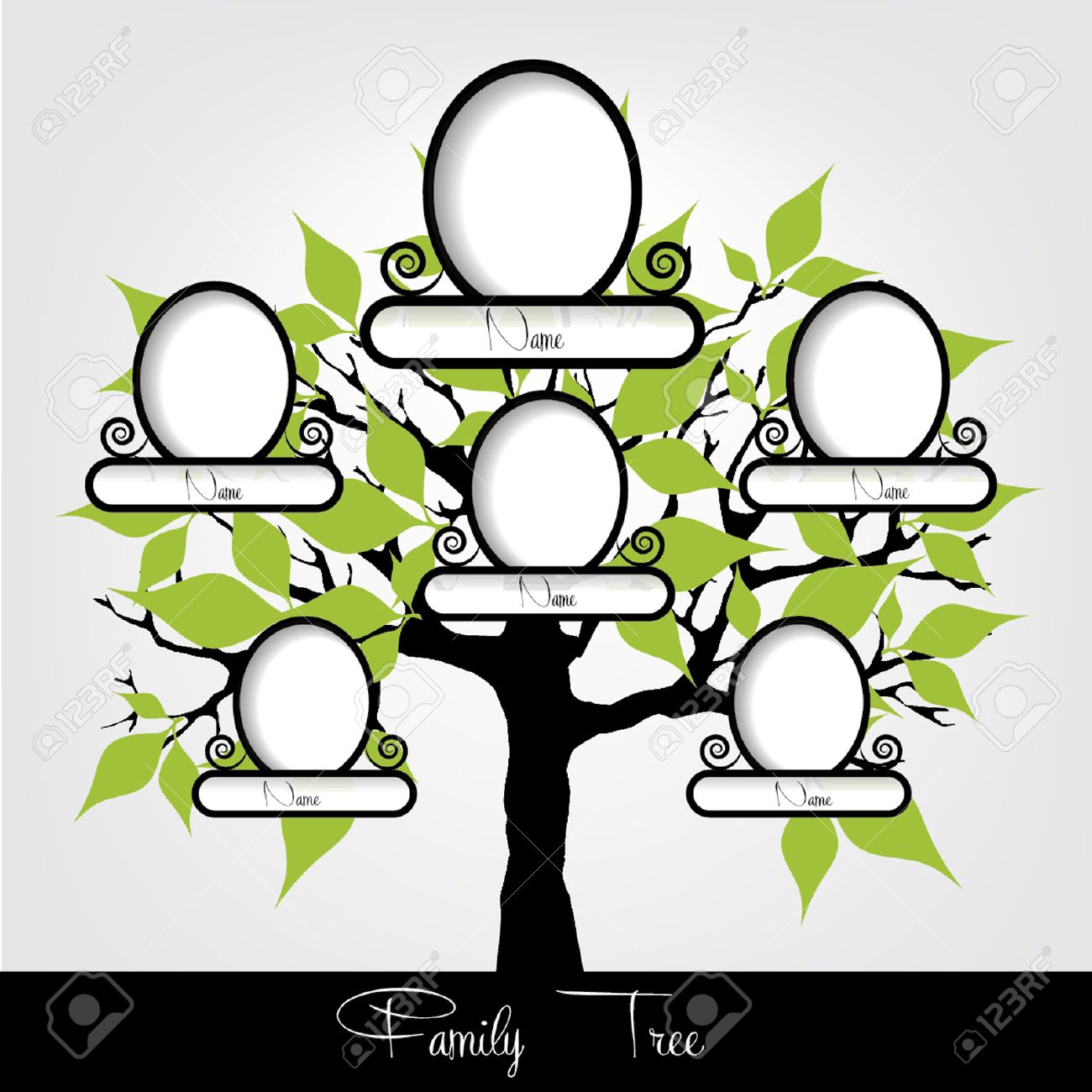 Family Tree Vector Stock Photos Images. Royalty Free Family Tree ...