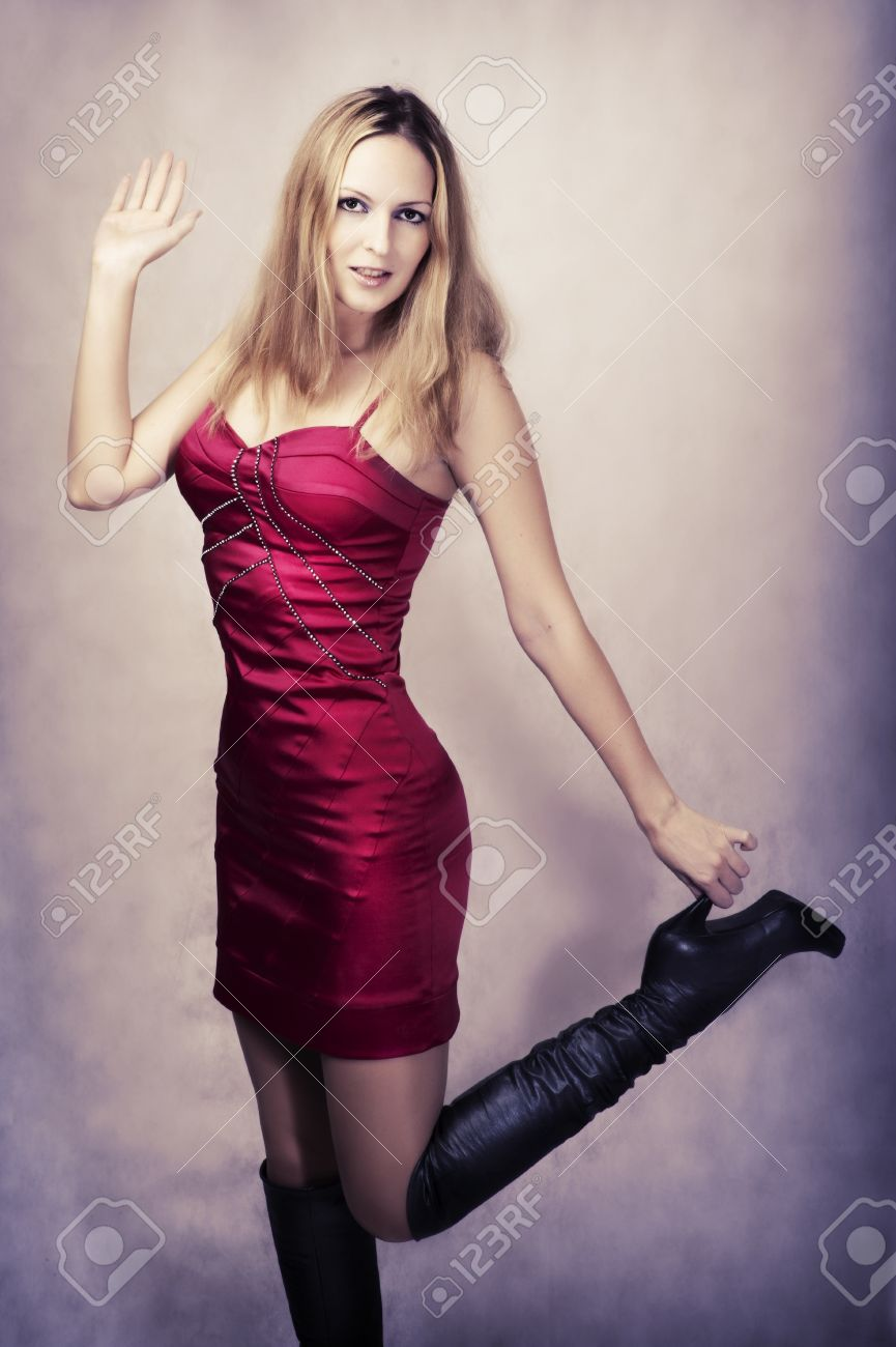 Sexy Women In High Heel Boots