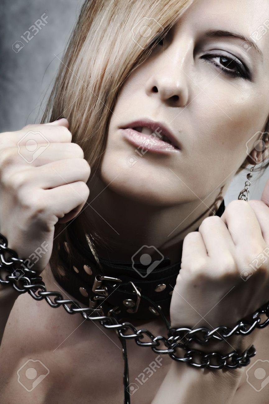 Chastity self bondage balls