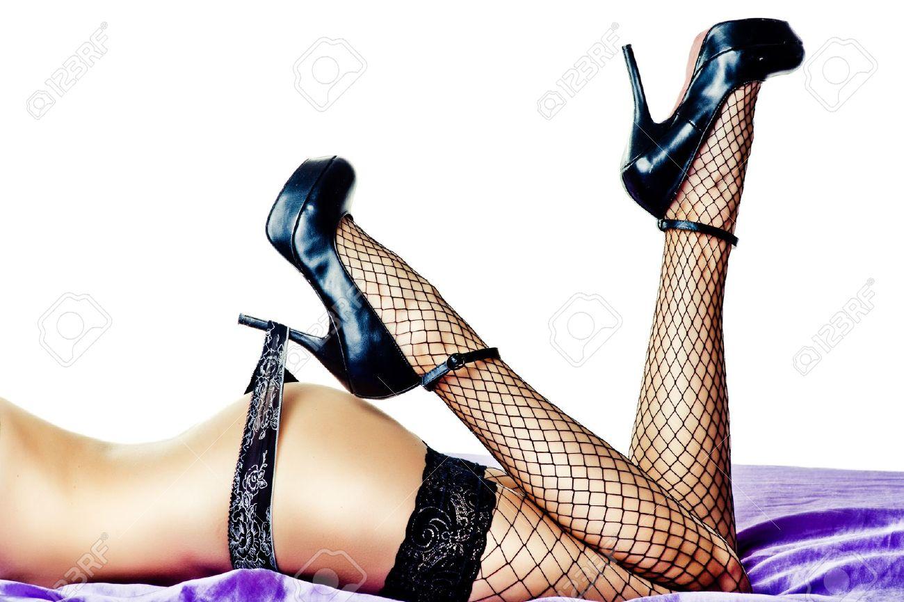 Mujeres De Alto Negros Y Nalgas Zapatos Piernas En Las Tacón Sexy 17Ug7
