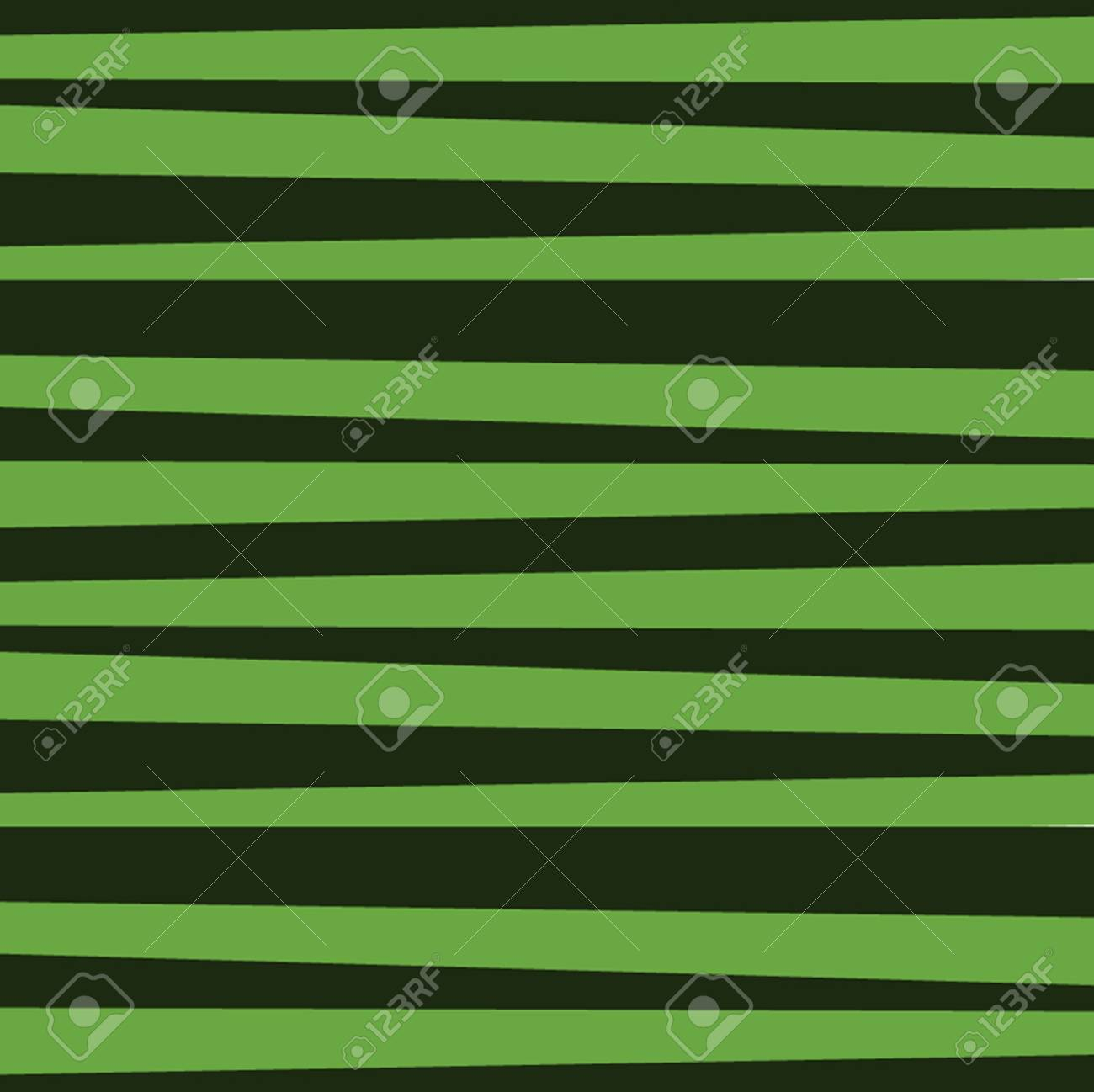 Abstract Vector Pattern With Horizontal Dark Green Stripes