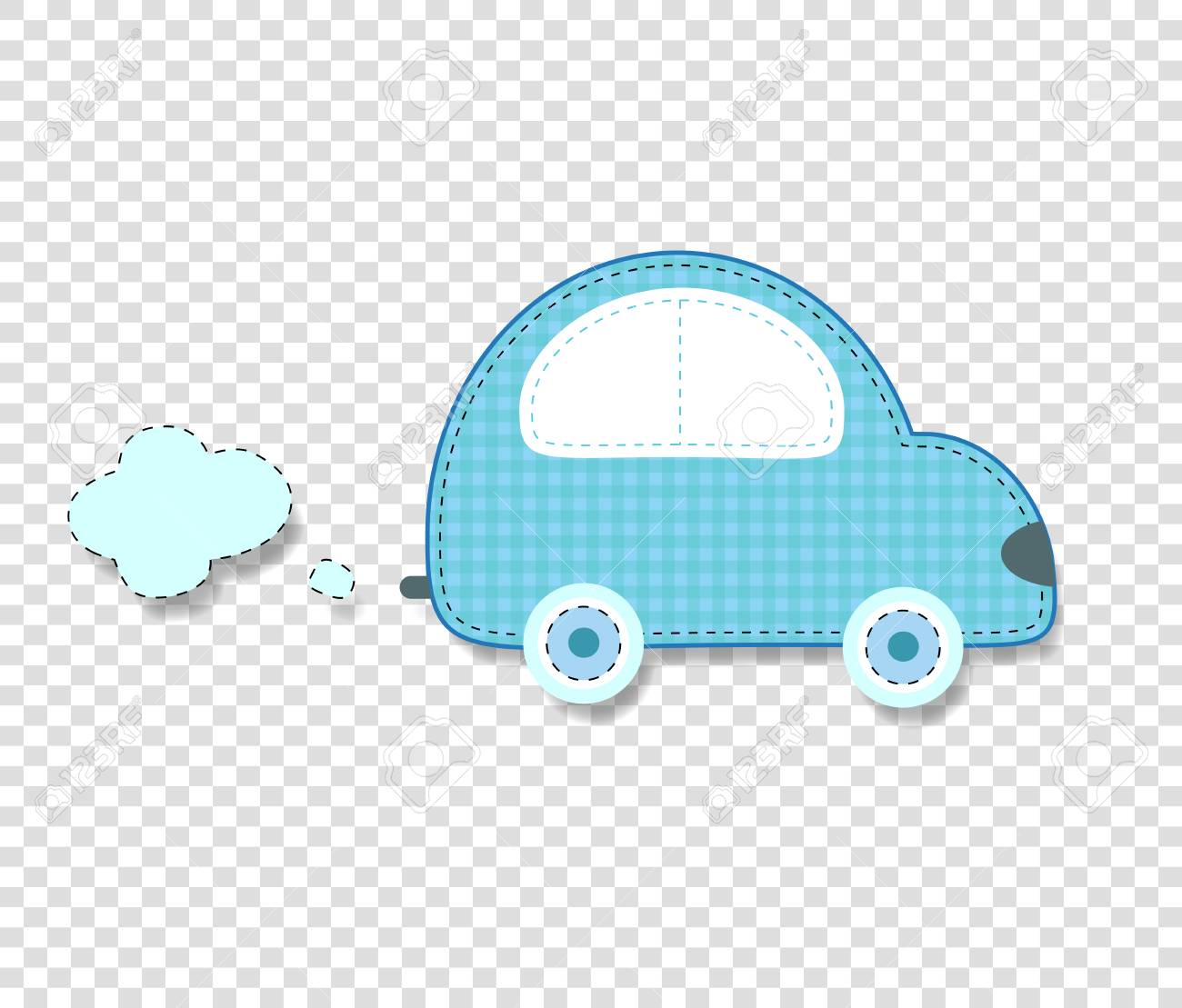 Cute Baby Boy Vector Clip Art Element For Scrapbook Or Baby Shower