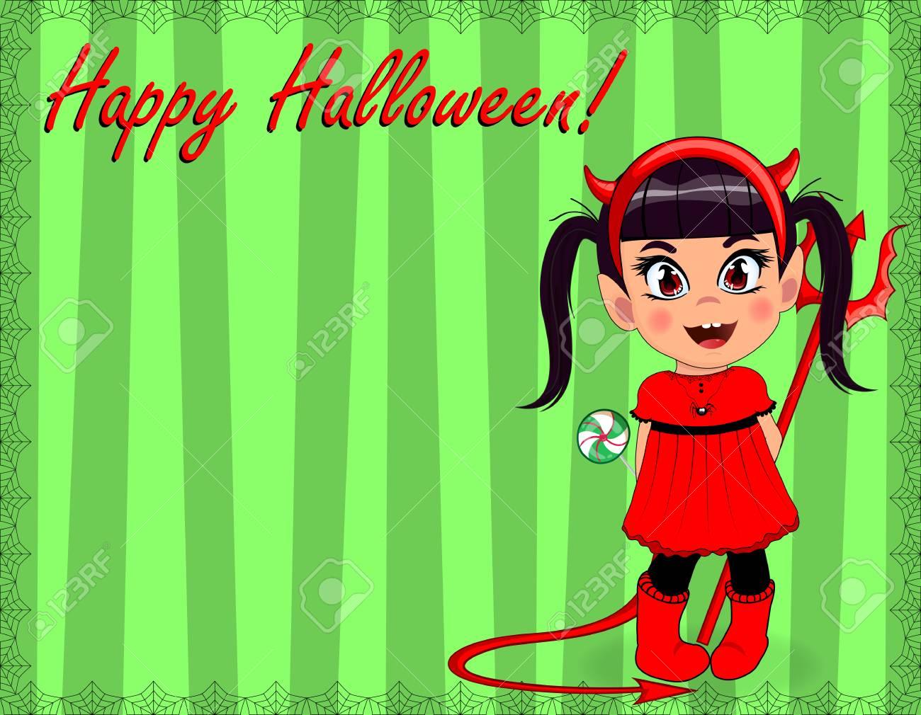 Infant Lil Red Devil Halloween Costume