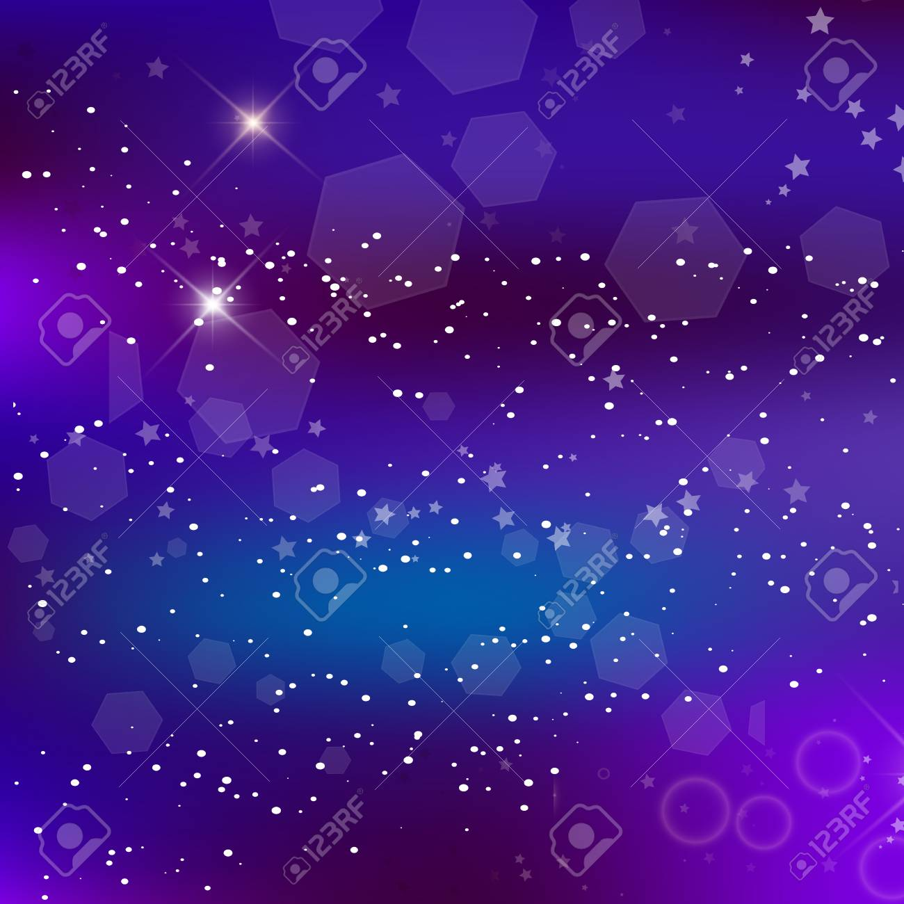 114558194 vector energy fantastic square background blurred glowing circles with flowing and liquid concept pu