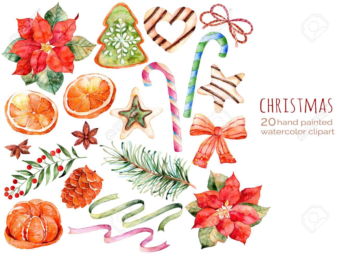 Weihnachtskollektion: Süßigkeiten, Weihnachtsstern, Anis, Orange ...