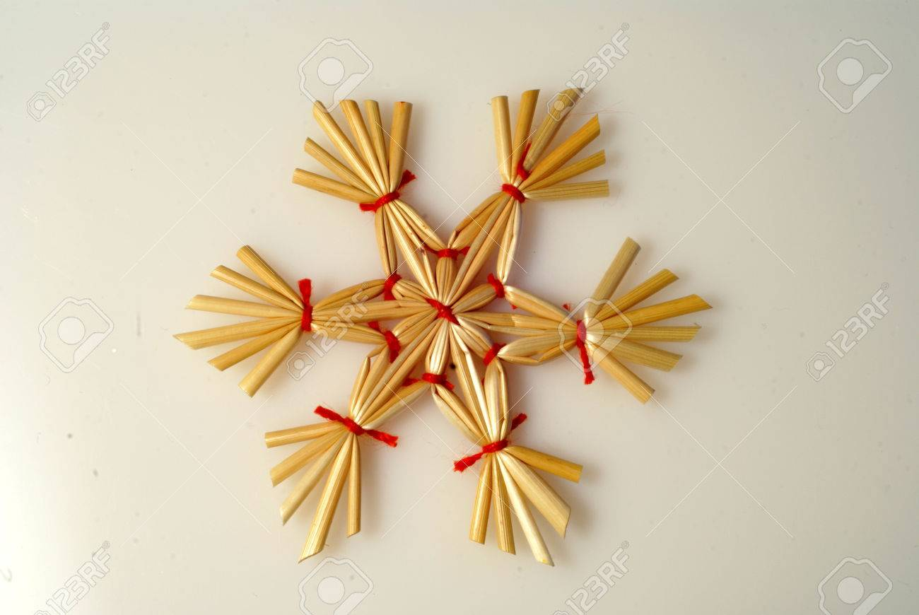 deco sapin paille