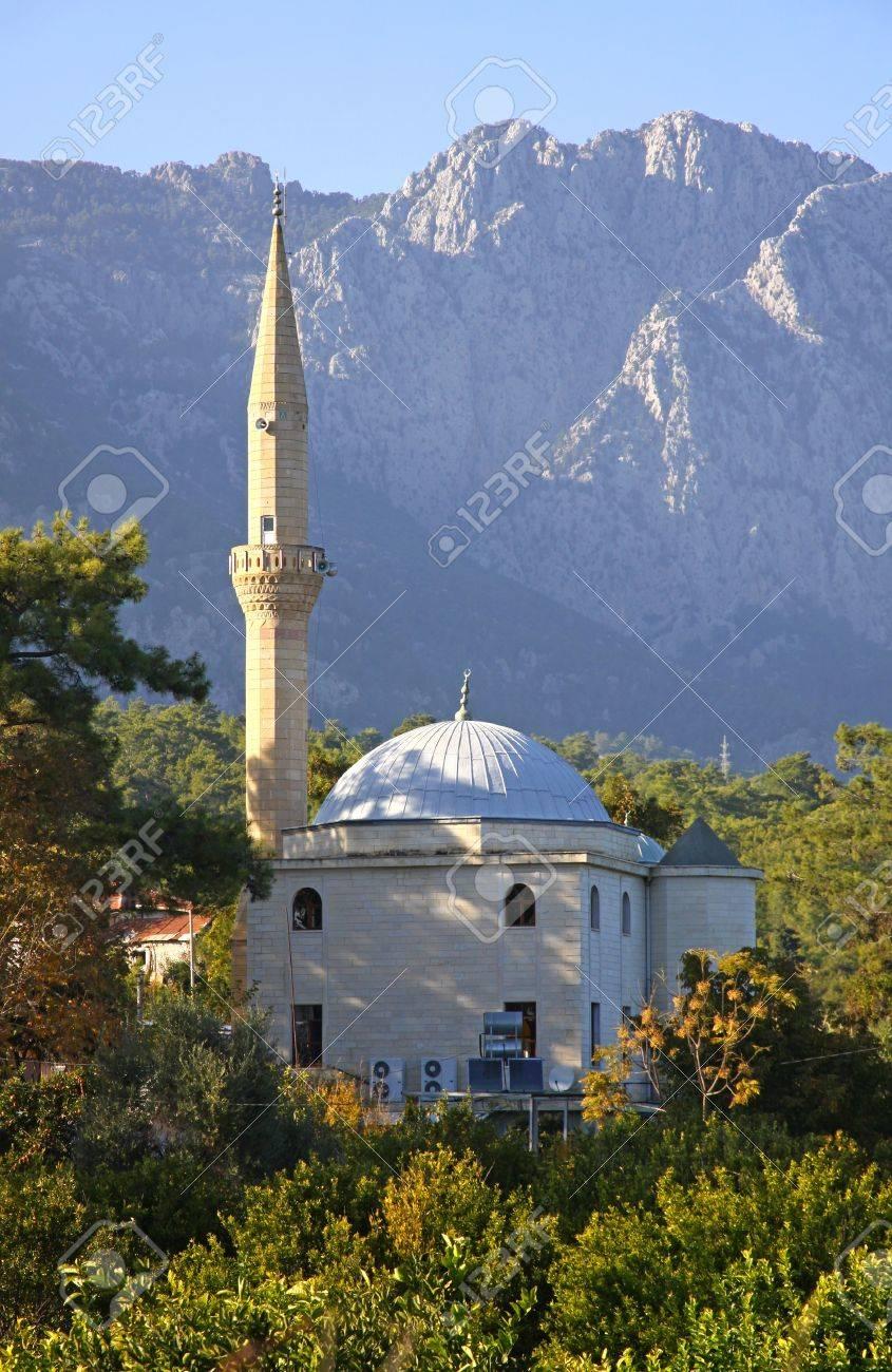 Mosques Antalya Turkey Mosque in Kemer Antalya