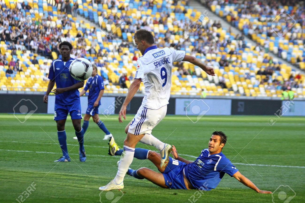 KYIV UKRAINE MAY 10 2012 Andriy Yarmolenko Dynamo Kyiv