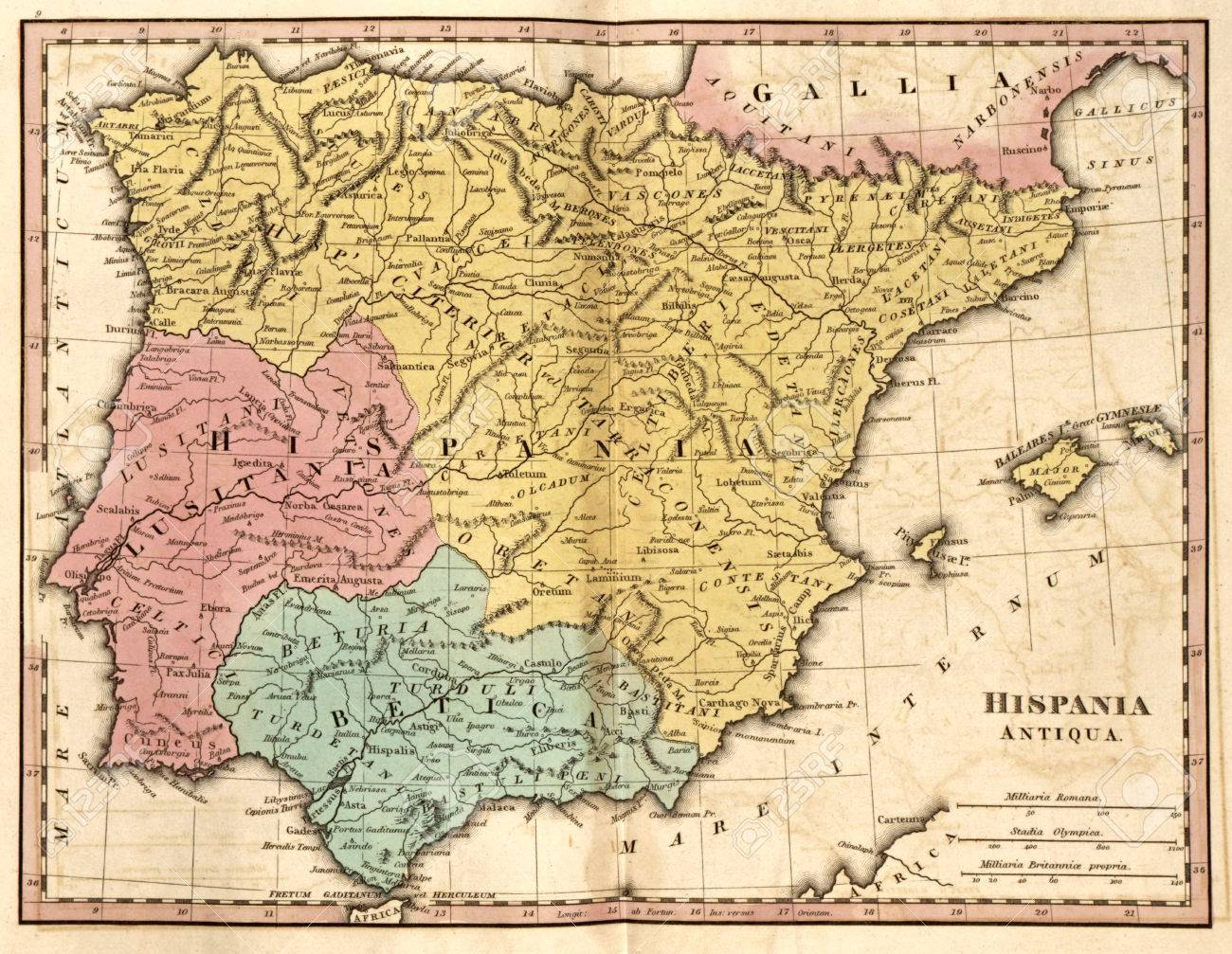 Detailed map of the Iberian Peninsula and the Balearic Isles.. on croatia world map, polynesia world map, arabian desert on world map, salem world map, asante world map, ascension world map, houston world map, english channel world map, britannia world map, northwest world map, south asia on world map, philadelphia world map, tap world map, anatolia on world map, st. martin world map, acadia world map, sas world map, mesoamerica world map, congo river world map, danube world map,