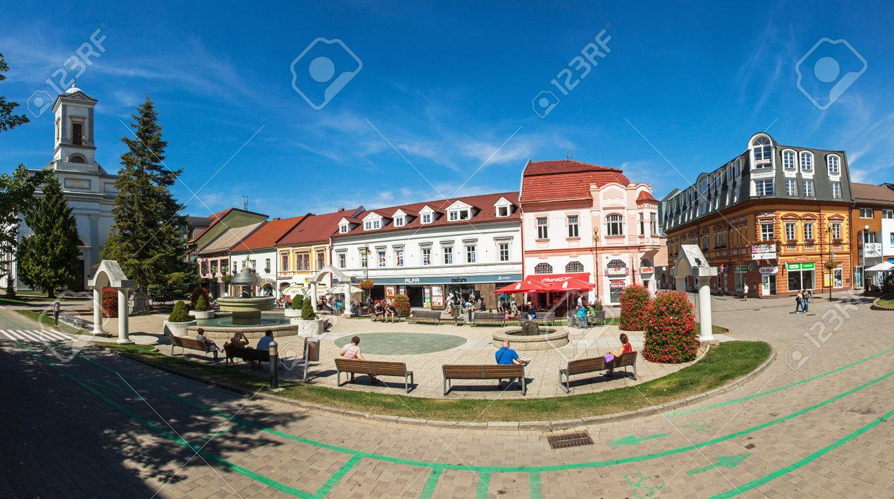 POPRAD、スロバキア - 2015 年 8 月 28 日: おり Svateho Egidia ...