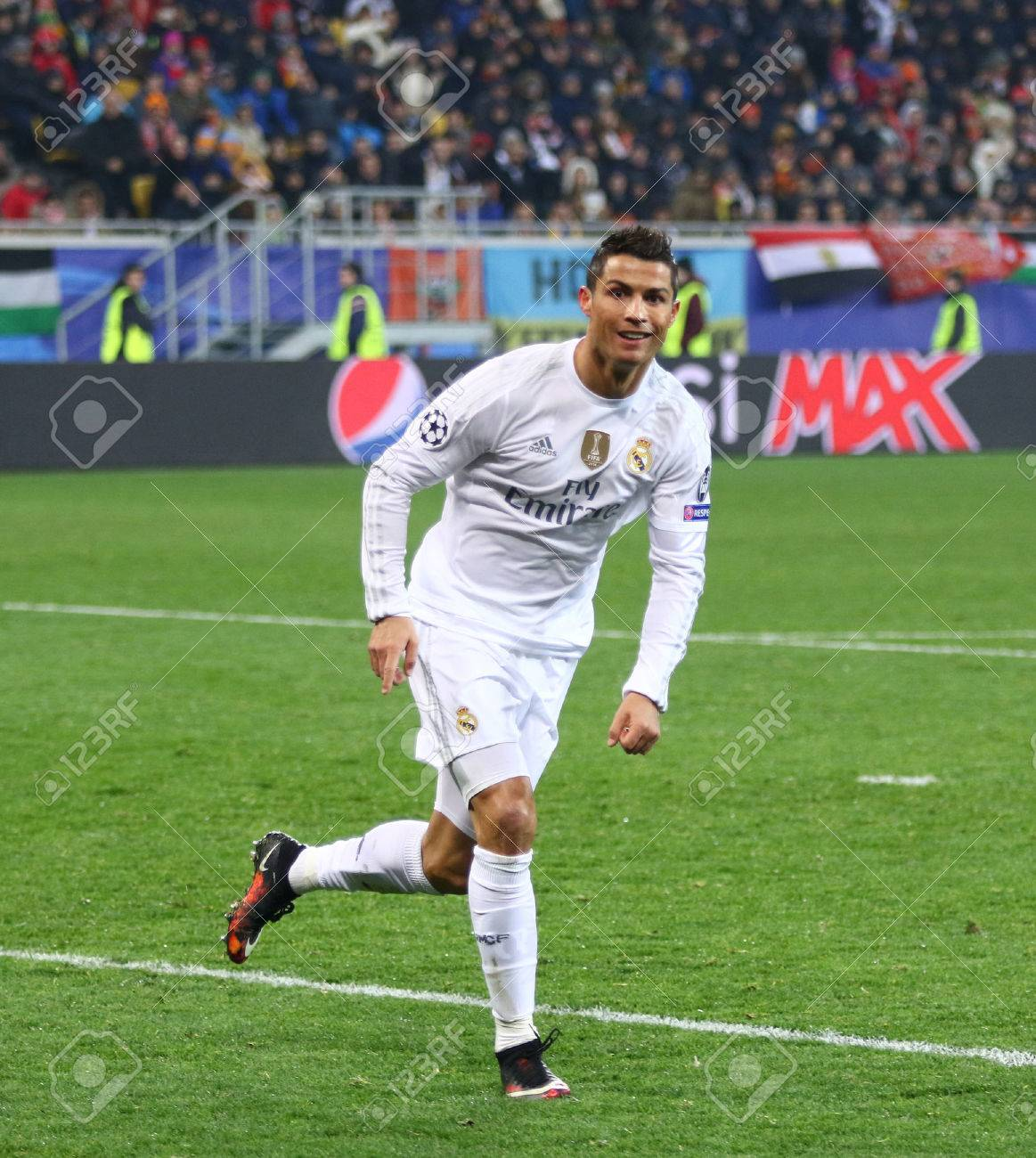 Lviv Ukraine November 25 2015 Cristiano Ronaldo Of Real Stock Photo Picture And Royalty Free Image Image 51490401