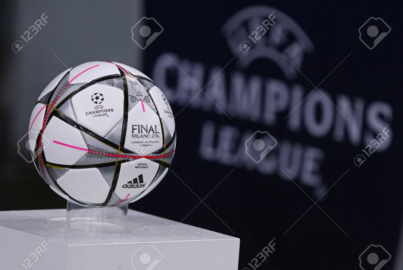 kyiv ukraine february 24 2016 official uefa champions league stock photo picture and royalty free image image 52858024 kyiv ukraine february 24 2016 official uefa champions league stock photo picture and royalty free image image 52858024
