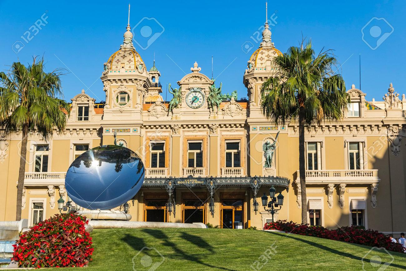 Casino De Monte Carlo >> Facade View Of Grand Casino De Monte Carlo Monaco Stock Photo