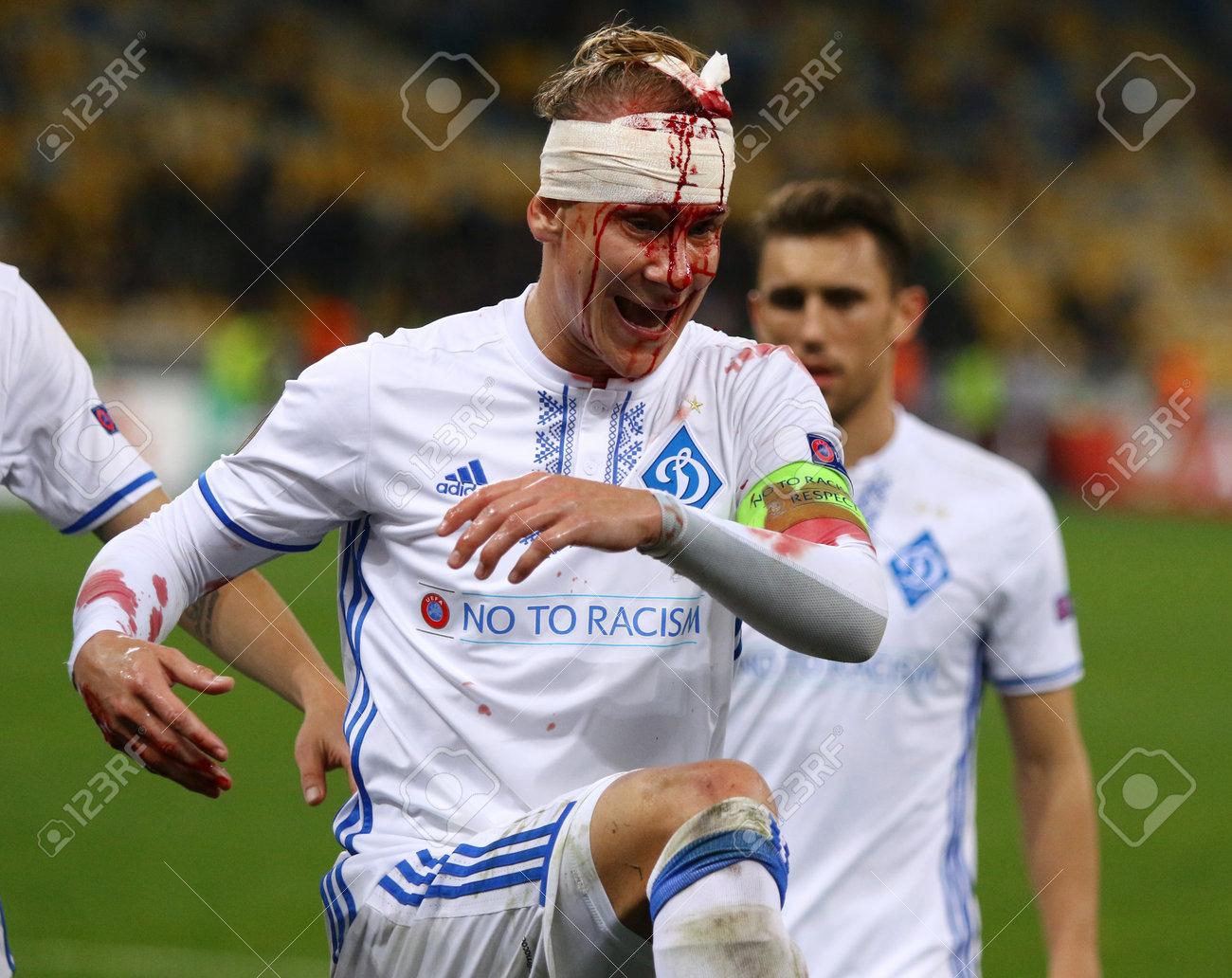 Kyiv Ukraine October 26 2017 Domagoj Vida Of Fc Dynamo Kyiv