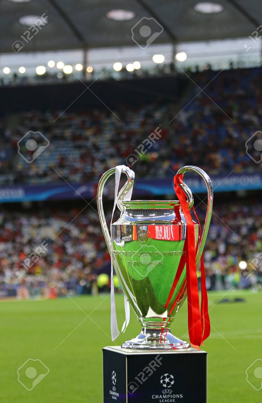 kyiv ukraine may 26 2018 uefa champions league trophy cup stock photo picture and royalty free image image 127627409 kyiv ukraine may 26 2018 uefa champions league trophy cup stock photo picture and royalty free image image 127627409