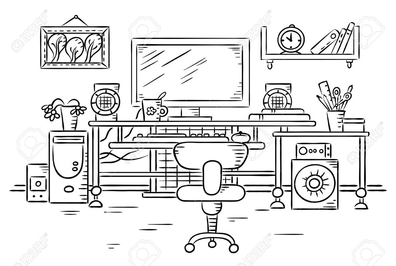 Рисуем рабочее место