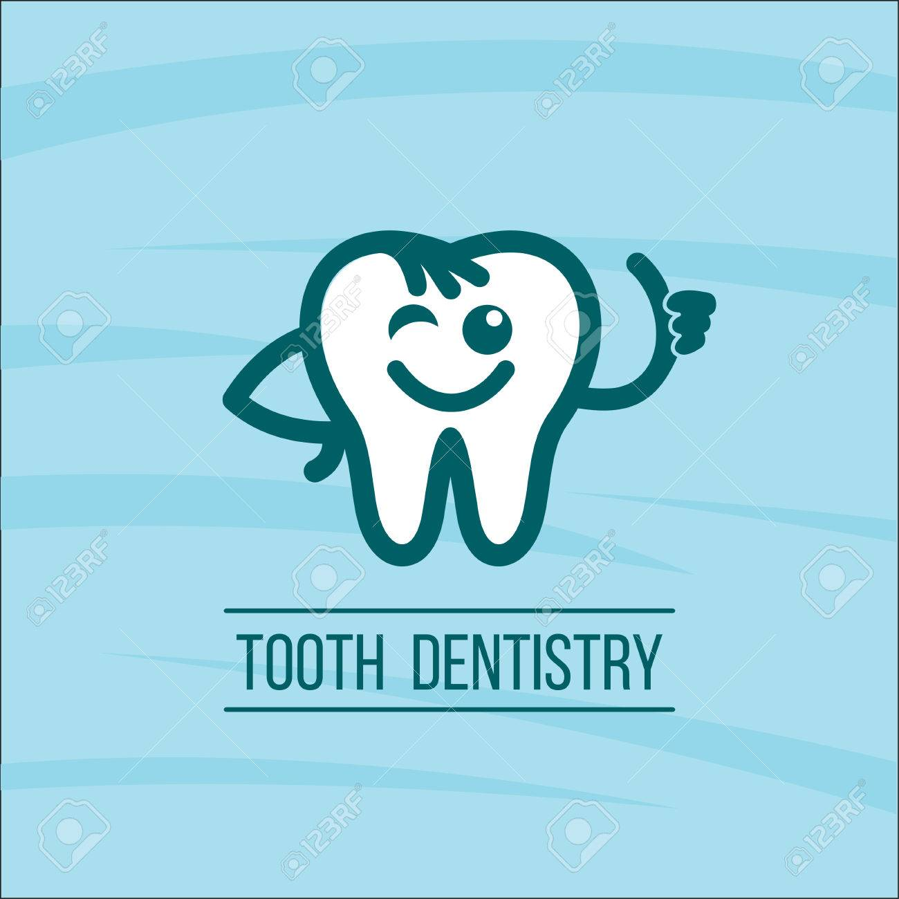 dentist tooth logo design template dental clinic logotype royalty