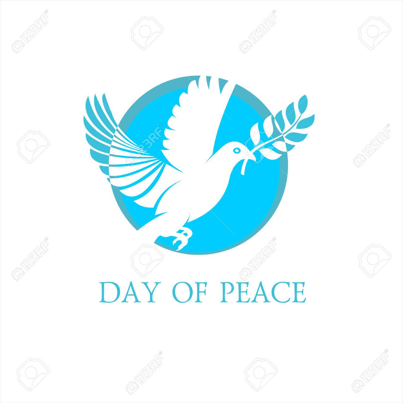 International Day Of Peace The Dove Of Peace Of A White Dove