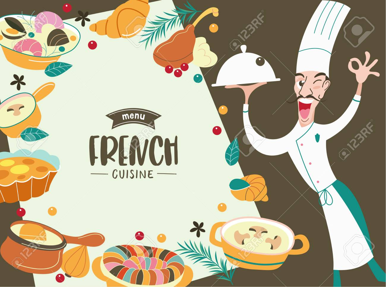 Chef cuisinier png / Cooking chef clipart / Cocinero png