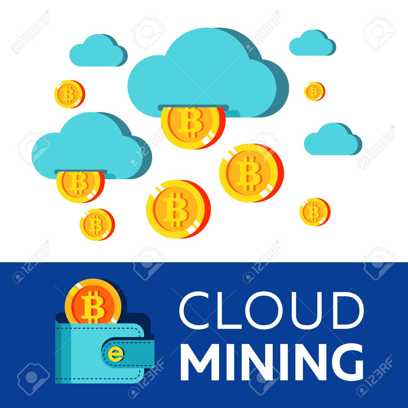 Cryptocurrency mining cloud