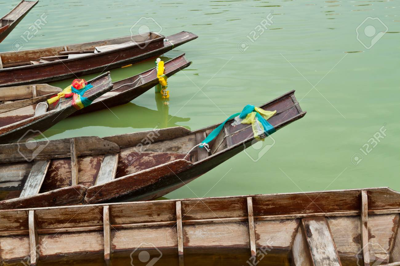 teak wood boat
