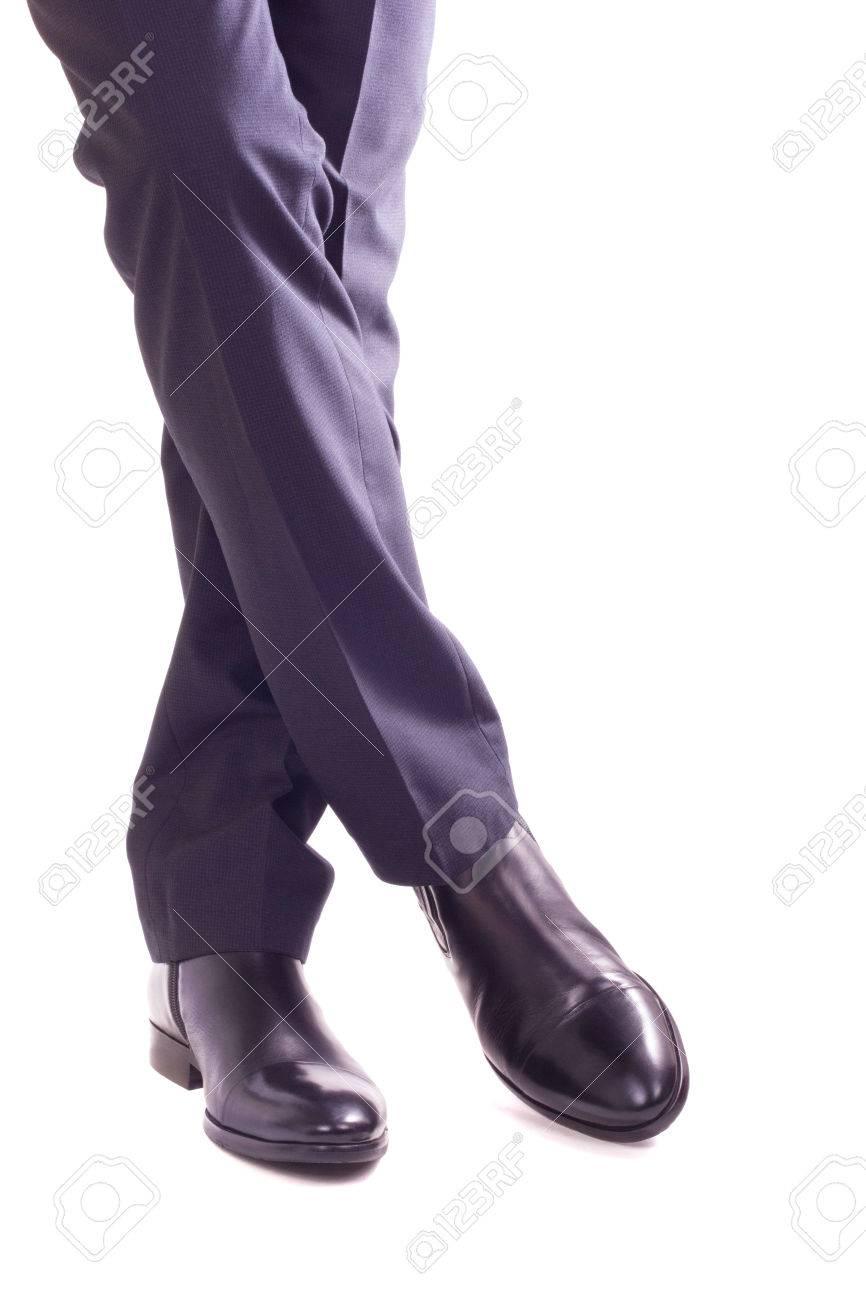 Un Un Debout Cirées Et Homme D'affaires Dans Chaussures Dans Costume vwHaxqZ