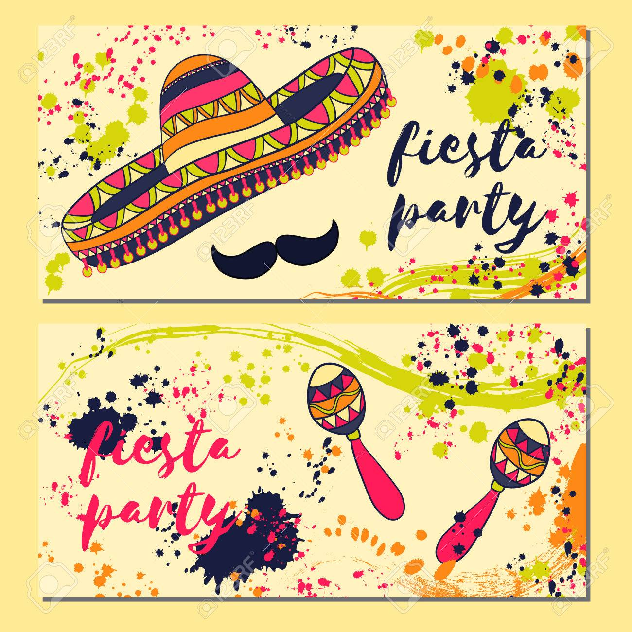Beautiful greeting card invitation for fiesta festival design beautiful greeting card invitation for fiesta festival design concept for mexican cinco de mayo stopboris Image collections