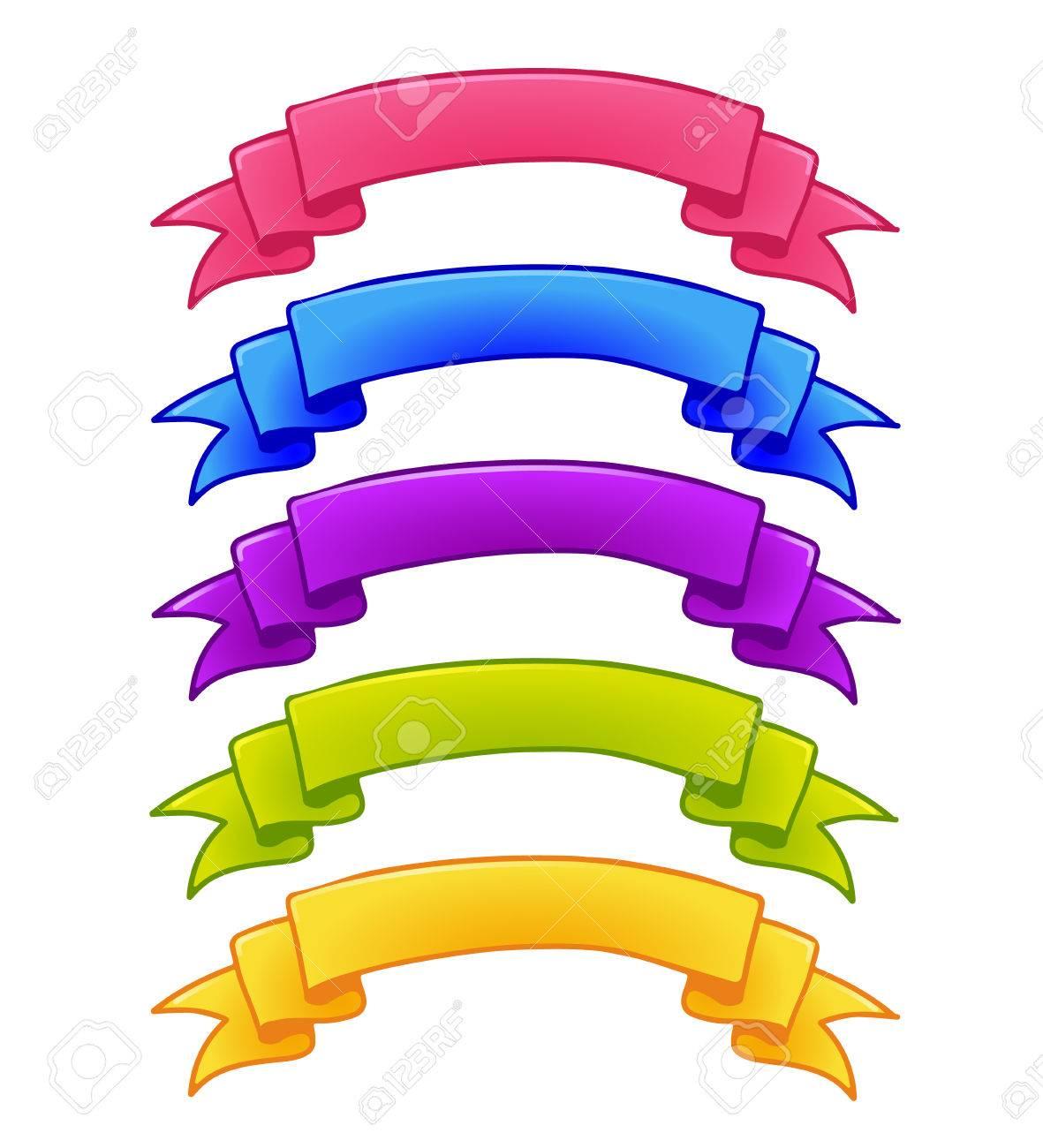 Conjunto De Cintas De Colores Para El Diseño Del Icono De Interface Illustration Games Juego Para Interfaz De Usuario App Isolated Sobre Fondo Blanco Ilustraciones Vectoriales Clip Art Vectorizado Libre De Derechos Image 68431117