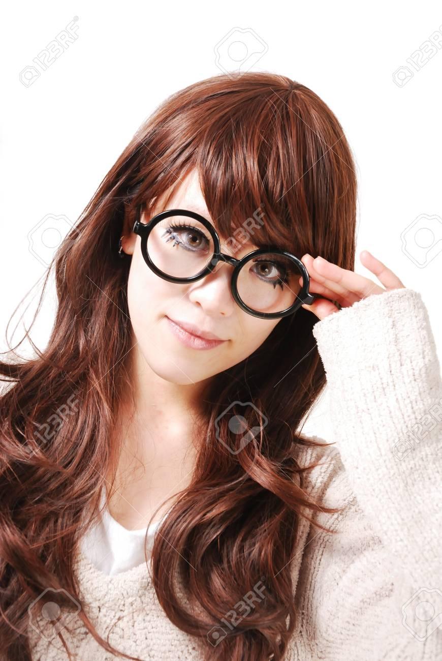 An Asian girl thinking Stock Photo - 12720790