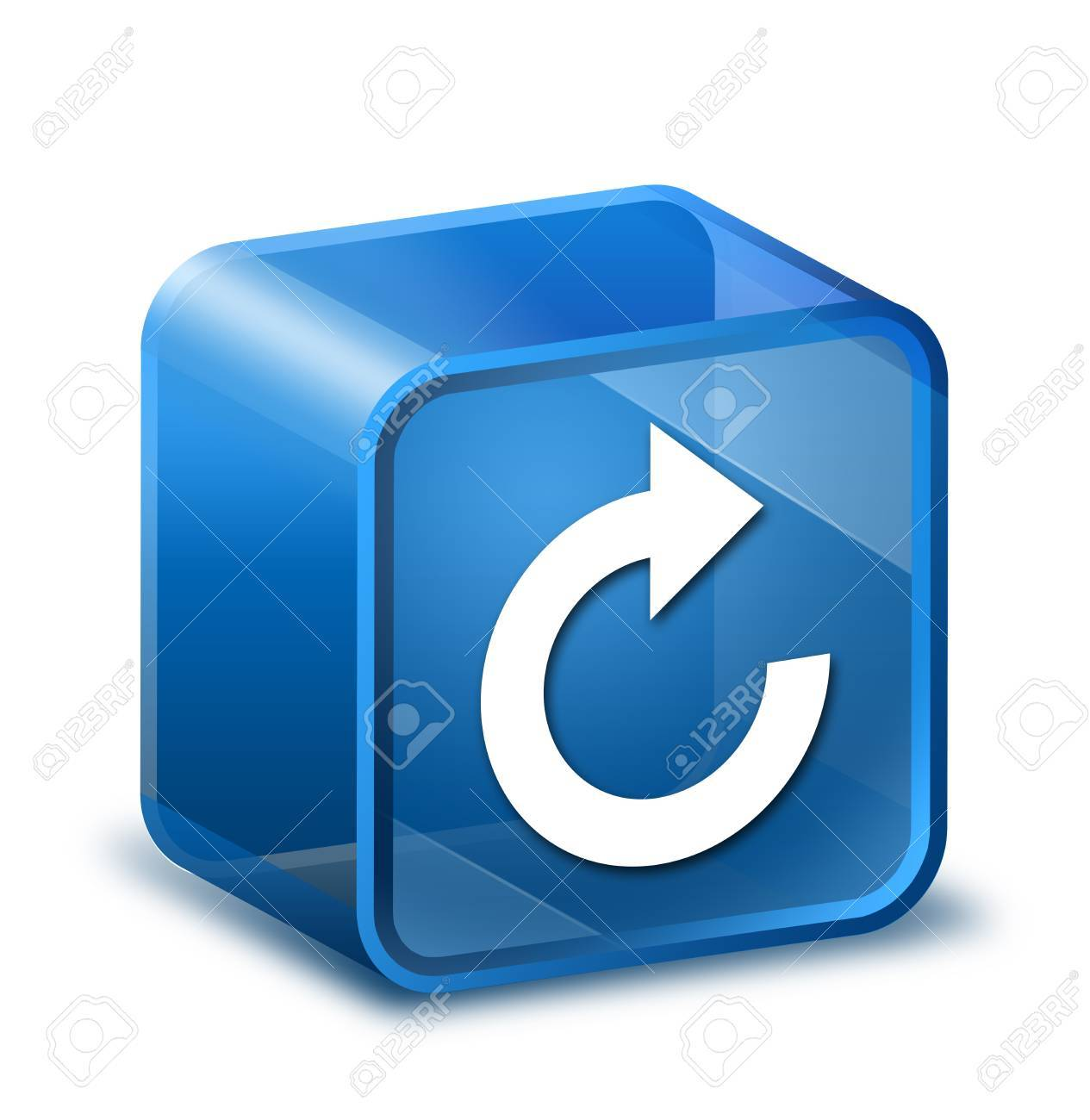 Transparent to the 3d icon Stock Photo - 14603465