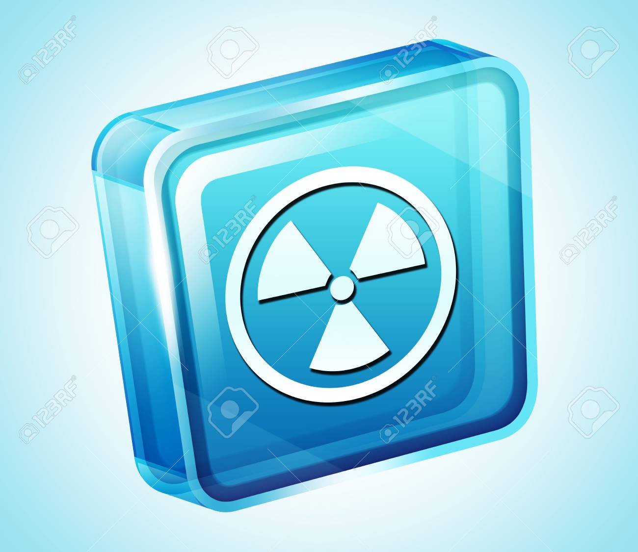 Transparent to the 3d icon Stock Photo - 15903661
