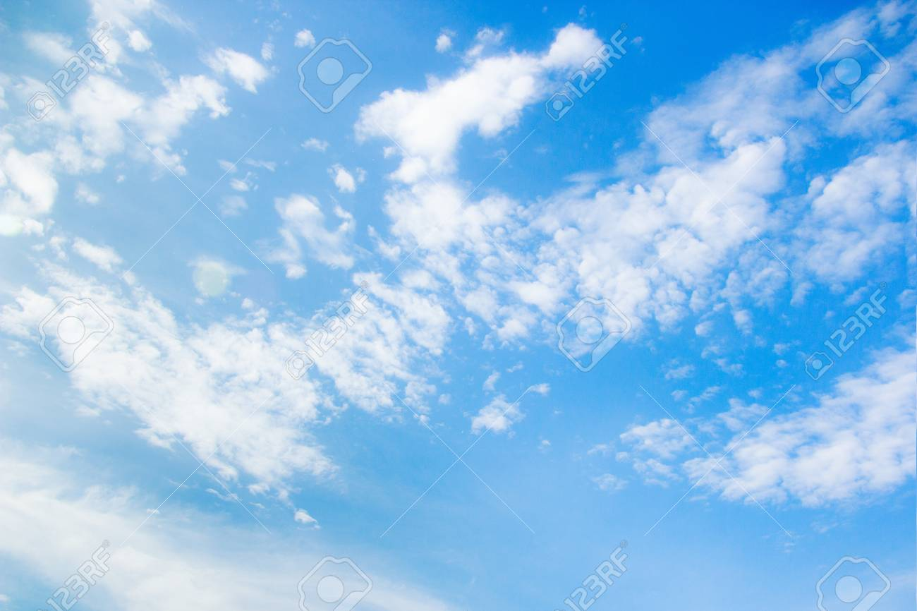 White Clouds On The Blue Sky Sky Texture Stock Photo Picture And Royalty Free Image Image 97623204