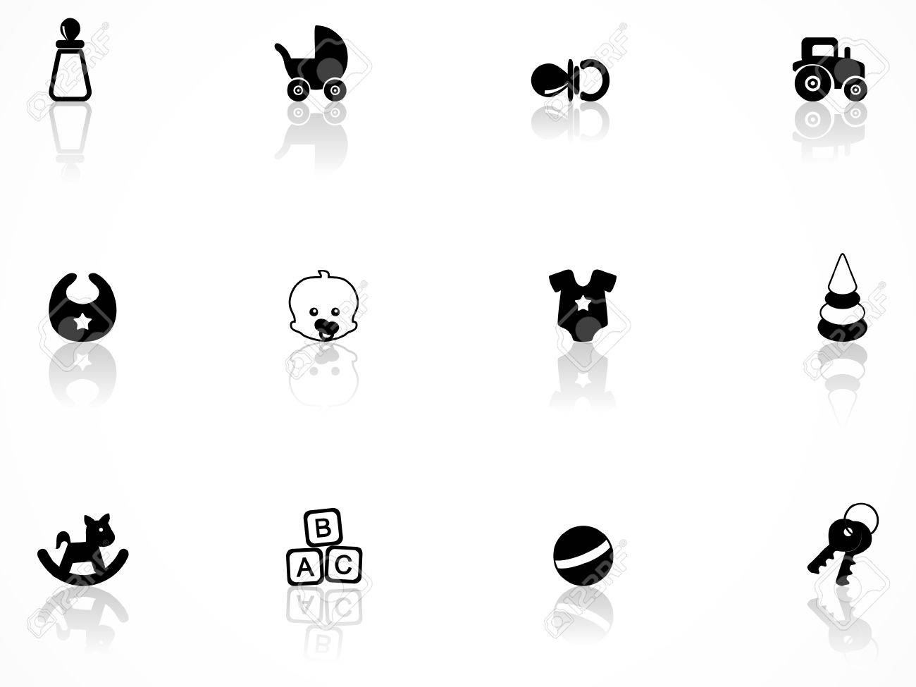 Babies icons set Stock Vector - 8363338