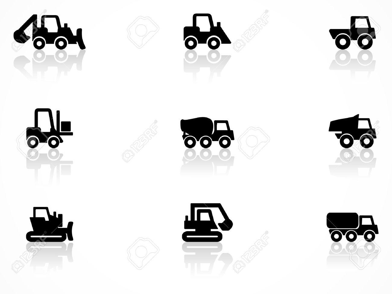 Construction Machines Symbols Royalty Free Cliparts, Vectors, And ...
