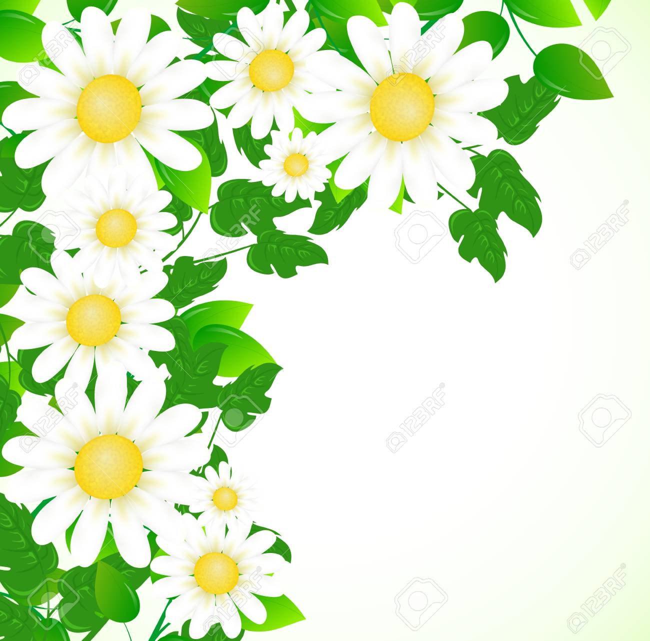 floral design with place for your text Stock Vector - 9892810