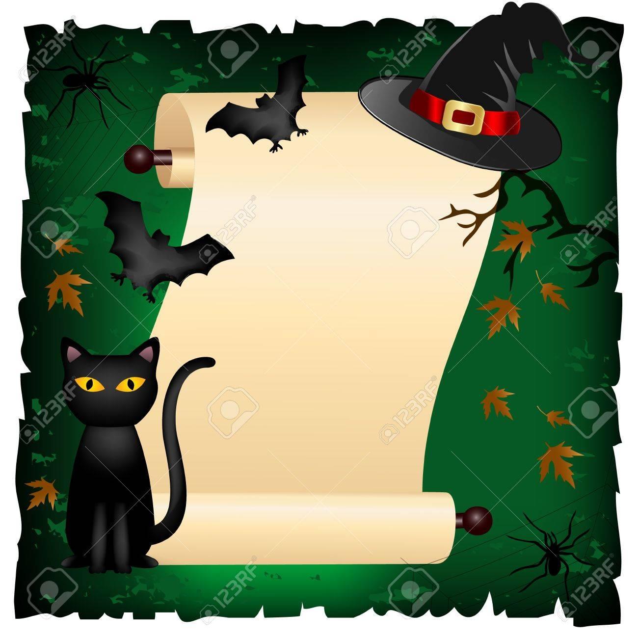 halloween invitation Stock Vector - 10985797