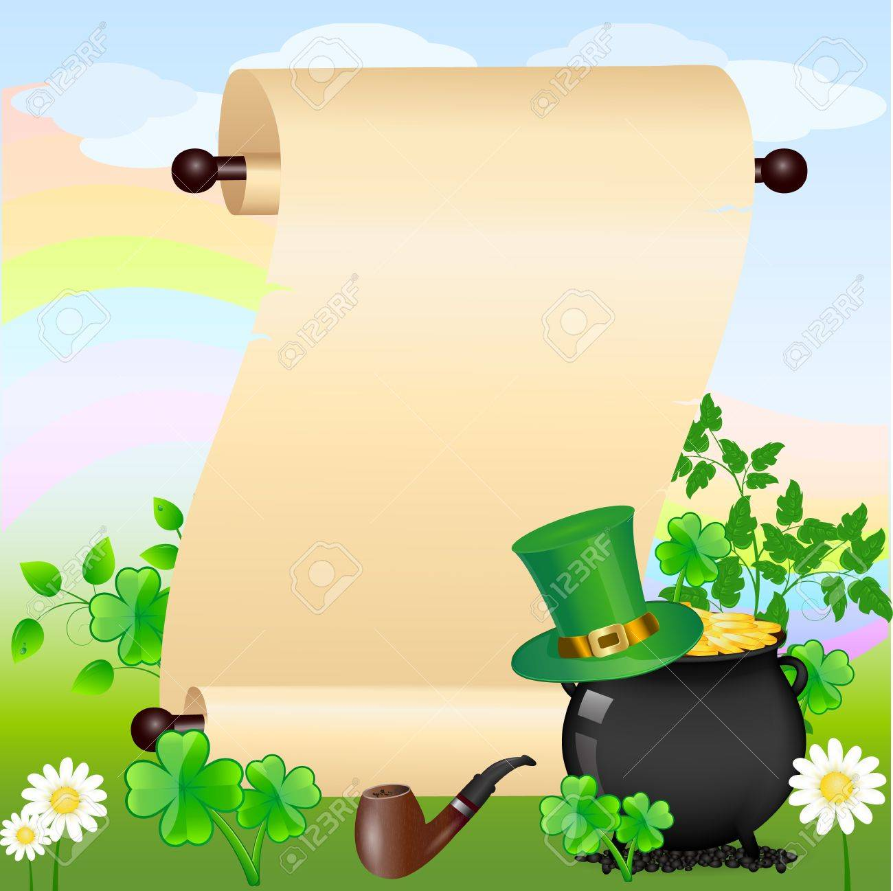 St. Patrick Stock Vector - 12485628