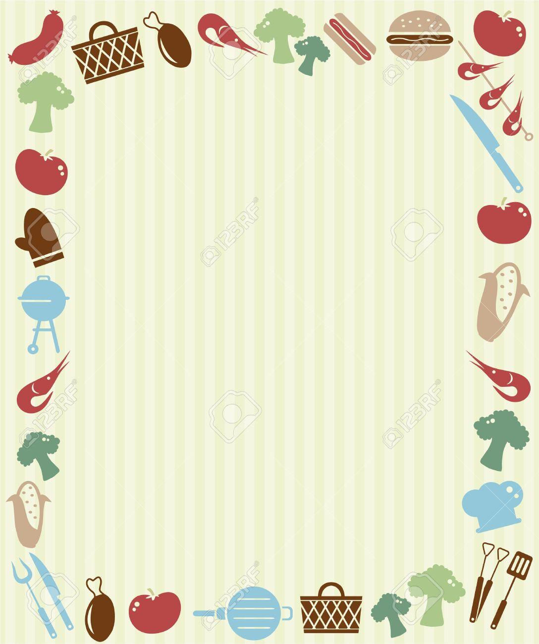 grill-picknick-einladung lizenzfrei nutzbare vektorgrafiken, clip, Einladung