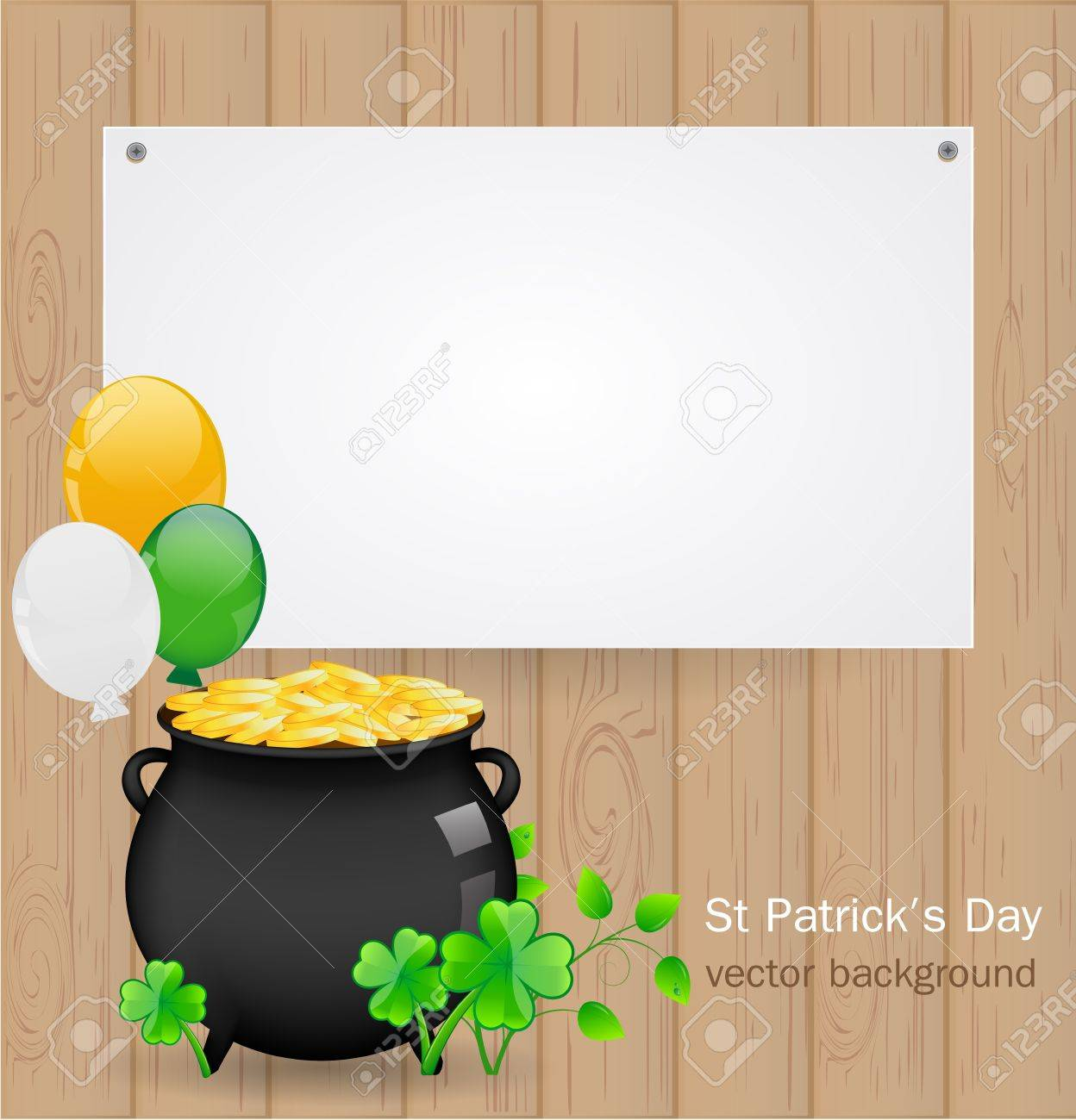 St  Patrick day background Stock Vector - 17446630
