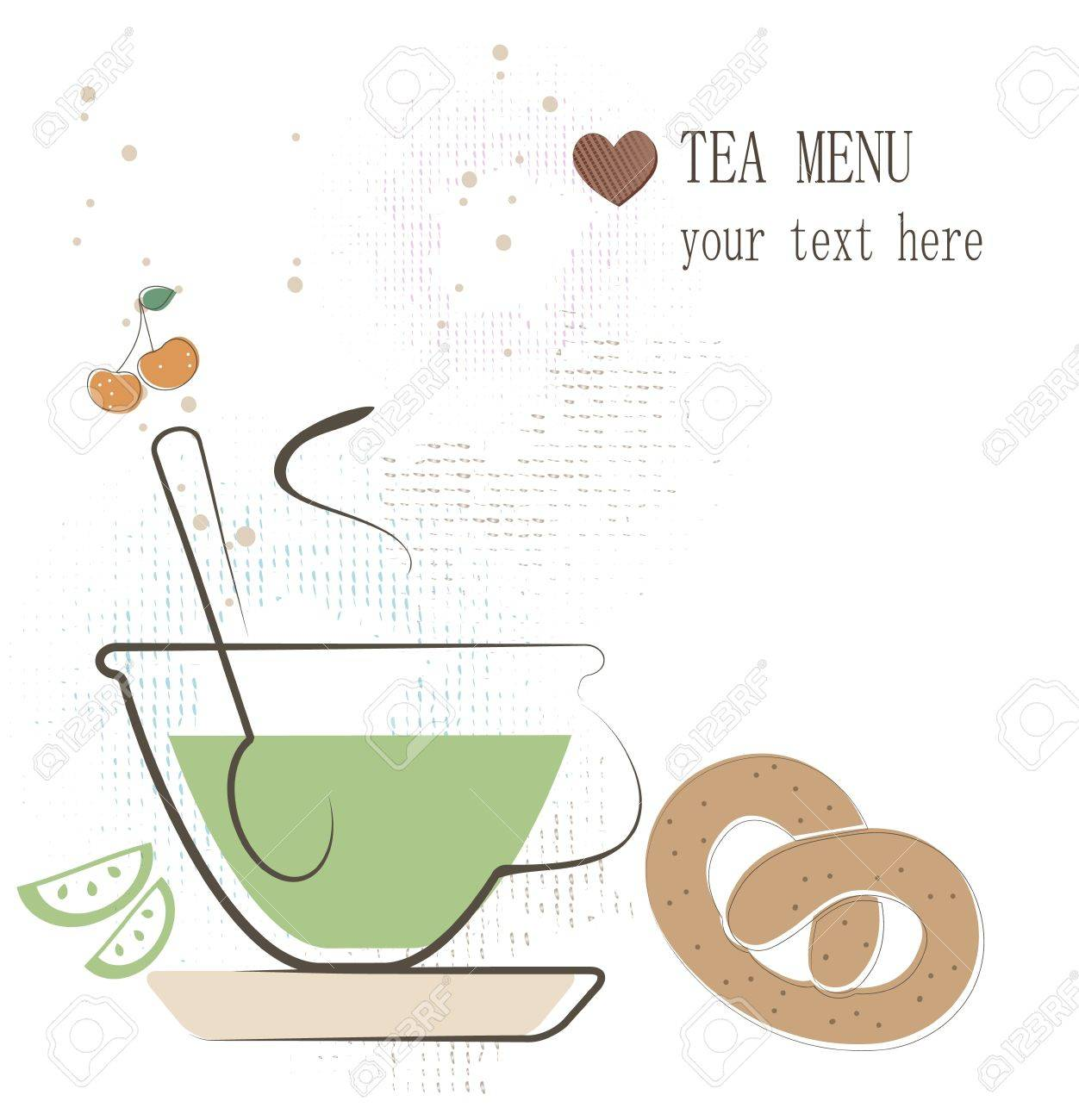 Tea menu Stock Vector - 17694720