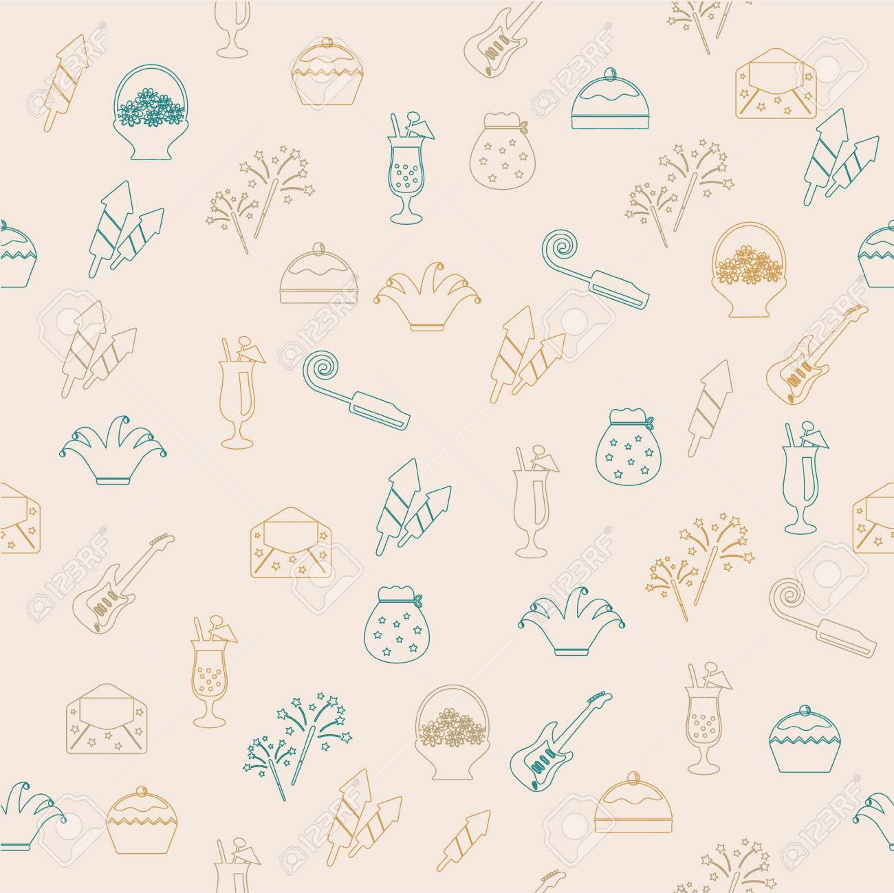 Party seamless pattern Stock Vector - 20147680