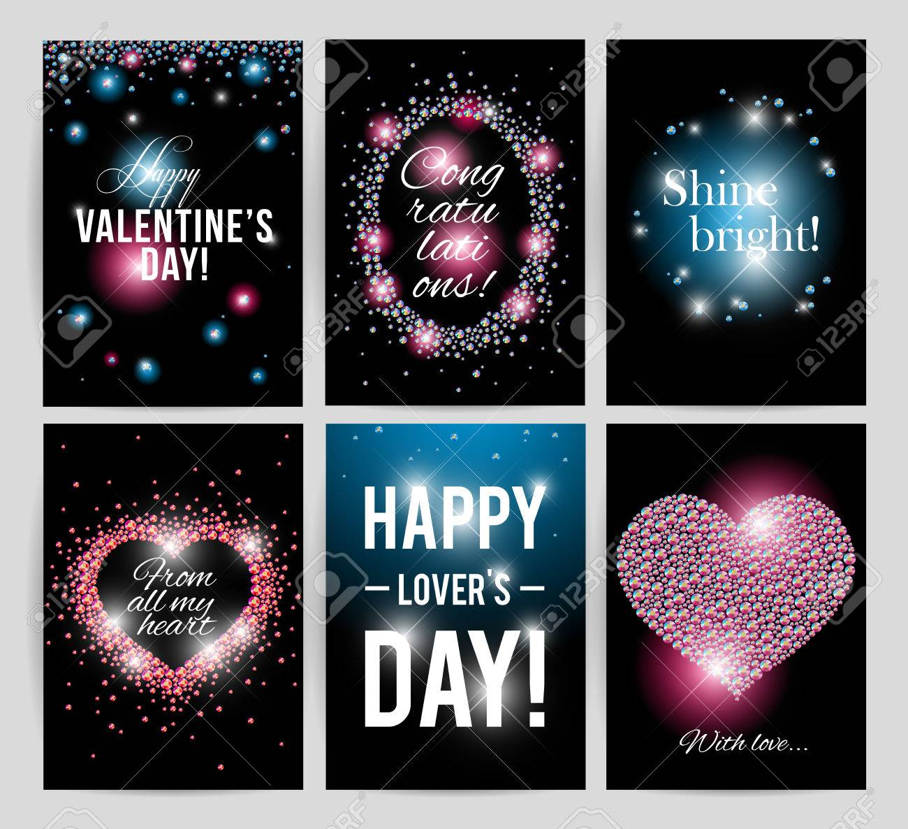 Vector valentines day card design love postcard wedding love postcard wedding invitation anniversary happy birthday party flyer or leaflet template gift present card sample with warm and best regards stopboris Image collections