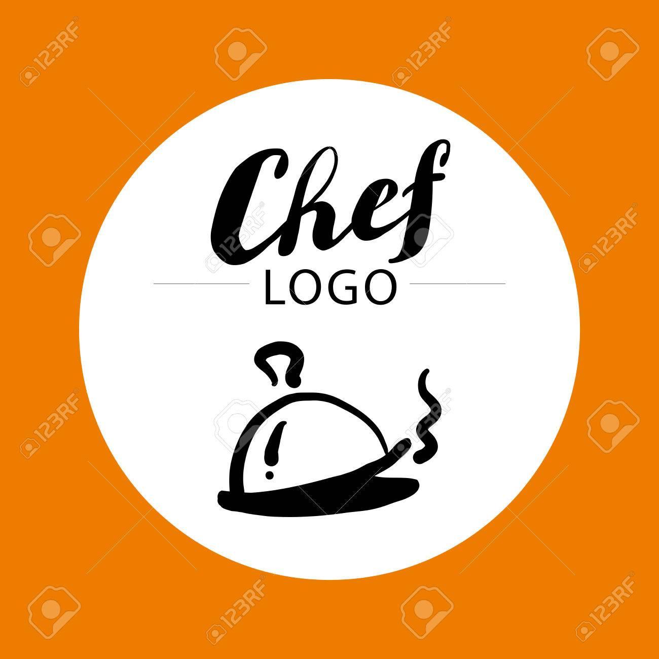 Hand Geschrieben Schrift Schriftzug. Nette Hand-Logo-Vorlage ...